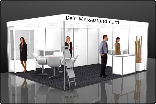 Stellwand Messestand